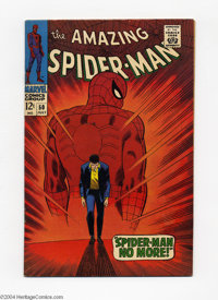 The Amazing Spider-Man #50 (Marvel, 1967) Condition: VF/NM. This issue has just about everything you could want. Aside f...