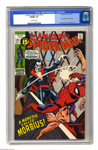 The Amazing Spider-Man #101 (Marvel, 1971) CGC VF/NM 9.0 Off-white pages. First appearance of Morbius, the Living Vampir...