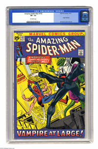 The Amazing Spider-Man #102 (Marvel, 1971) CGC VF- 7.5 Off-white pages. 52-page, 25-cent issue pitting six-armed Spidey...