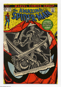 The Amazing Spider-Man #113 (Marvel, 1972) Condition: VF. First appearance Hammerhead. John Romita Sr. cover and art. Ov...