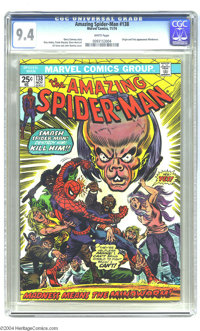 The Amazing Spider-Man #138 (Marvel, 1974) CGC NM 9.4 White pages. Totally terrific Near Mint copy of the Spidey vs. the...