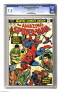 Bronze Age (1970-1979):Superhero, The Amazing Spider-Man #140 (Marvel, 1975) CGC VF- 7.5 Off-white to white pages. First appearance of Glory Grant. Also featu...
