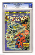 Bronze Age (1970-1979):Superhero, The Amazing Spider-Man #143 (Marvel, 1975) CGC VF 8.0 Cream to off-white pages. First whirlwind appearance of Cyclone. Ross ...