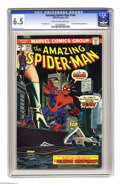Bronze Age (1970-1979):Superhero, The Amazing Spider-Man #144 (Marvel, 1975) CGC FN+ 6.5 Cream to off-white pages. Spidey encounters the clone of Gwen Stacy. ...