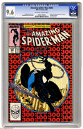 Modern Age (1980-Present):Superhero, The Amazing Spider-Man #300 (Marvel, 1988) CGC NM+ 9.6 Off-white to white pages. Origin and first full appearance of Venom. ...