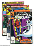 Modern Age (1980-Present):Superhero, The Amazing Spider-Man Group (Marvel, 1981-85) Condition: AverageVF+. This lot consists of issues #220, 231-233, 239, 241, ...(Total: 17 Comic Books Item)