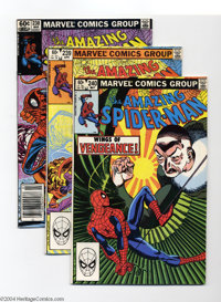 The Amazing Spider-Man #231-270 Group (Marvel, 1982-85) Condition: Average VF. Artists include John Romita Jr. Highlight...