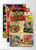Silver Age (1956-1969):Superhero, Batman Group (DC, 1965-66 Condition: GD/VG. This group includes #174 (GD), # 176 (GD), #179 (VG), #181 (VG), and #182 (GD/VG... (Total: 5 Comic Books Item)