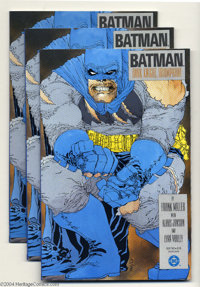 Batman: The Dark Knight Returns #2 Group (DC, 1986) Condition: Average NM. This lot consists of 6 copies of issues #3 (2...
