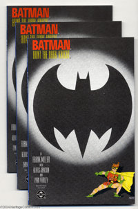 Batman: The Dark Knight Returns #3 Group (DC, 1986) Condition: Average NM. This lot consists of 11 copies of issues #3...