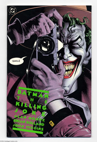 Batman: The Killing Joke #nn (DC, 1988) Condition: NM. First printing. Alan Moore story; Brian Bolland art. Overstreet 2...