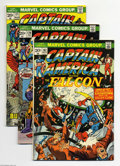 Bronze Age (1970-1979):Superhero, Captain America Group (Marvel, 1972-76) Condition: Average VG. This group includes #149, 152, 162, 167, 170, 171, 175 (with ... (Total: 11 Comic Books Item)