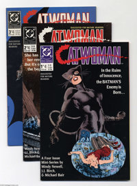 Catwoman #1-4 Group (DC, 1989) Condition: Average NM. The complete limited series. Approximate Overstreet value for grou...