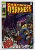 Silver Age (1956-1969):Horror, Chamber of Darkness #1 (Marvel, 1969) Condition: VF+. John Romita Sr. cover. John Buscema, Tom Sutton, and Don Heck art. Ove...