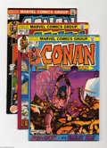 Bronze Age (1970-1979):Miscellaneous, Conan the Barbarian #19-21 Group (Marvel, 1972) Condition: AverageVF/NM. All have Barry Smith art. Overstreet 2004 value fo...(Total: 3 Comic Books Item)