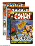Bronze Age (1970-1979):Miscellaneous, Conan the Barbarian #14-16 Group (Marvel, 1972) Condition: AverageVF. This group consists of three comics: #14-16. Elric ap...(Total: 3 Comic Books Item)