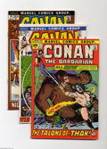 Bronze Age (1970-1979):Miscellaneous, Conan the Barbarian Group (Marvel, 1971-72) Condition: VF. Thisgroup includes #11, #13, #16, and #18. All but the last one ...(Total: 4 Comic Books Item)