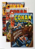 Bronze Age (1970-1979):Miscellaneous, Conan the Barbarian Bronze Group (Marvel, 1971). This groupincludes #6 (FN+), #8 (FN/VF), and #10 (VF). All have Barry Smit...(Total: 3 Comic Books Item)
