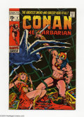 Bronze Age (1970-1979):Miscellaneous, Conan the Barbarian #4 and 7 Group (Marvel, 1971). This lotconsists of issues #4 (VF+) and 7 (FN-). Barry Windsor-Smith art...(Total: 2 Comic Books Item)