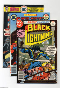 DC First Issues Group (DC, 1974-77) Condition: Average VF/NM. This group includes Black Lightning #1, Freedom Fighters...