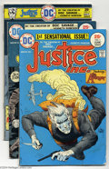 Bronze Age (1970-1979):Miscellaneous, DC Bronze Age Group (DC, 1974-75) Condition: Average FN+. Thisgroup includes Justice Inc. #1-4 (the title's full run: Jack ...(Total: 14 Comic Books Item)