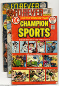 Bronze Age (1970-1979):Miscellaneous, DC Bronze Age Group (DC, 1971-76) Condition: Average GD/VG. Thisgroup includes Champion Sports #1, Forever People #... (Total: 20Comic Books Item)