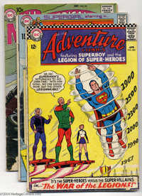 DC Silver Age Group (DC, 1961-70) Condition: Average GD+. This group includes Adventure Comics #355 and 396, All-Ameri...