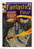 Silver Age (1956-1969):Superhero, Fantastic Four #47 (Marvel, 1966) Condition: VF+. Introduces Black Bolt's brother Maximus the Mad as the villain of the stor...