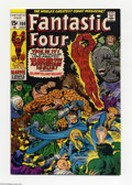 Bronze Age (1970-1979):Superhero, Fantastic Four #100 (Marvel, 1970) Condition: VF+. The team fights Thinker and Puppet Master, with cameos of seemingly every...