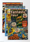Bronze Age (1970-1979):Superhero, Fantastic Four Group (Marvel, 1971-73) Condition: Average VF/NM. This group includes #108, 127, and 139. Artists include Joh... (Total: 3 Comic Books Item)
