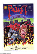 Modern Age (1980-Present):Horror, Faust #1 (Northstar Publishing/Rebel Studios, 1989) Condition: NM. Overstreet 2004 NM- 9.2 value = $24....
