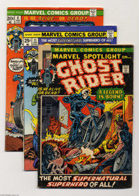 Ghost Rider Group (Marvel, 1972-75). This group includes the character's first appearance in Marvel Spotlight #5 (FR/GD)...