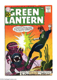 Green Lantern #8 (DC, 1961) Condition: VG-. Contains the first 5700 A.D. story. Grey tone cover art. Gil Kane art. Overs...