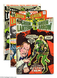 Green Lantern Age Group (DC, 1971-72) Condition: Average FN. This group consists of five comics: #83, 84 (partial photo...