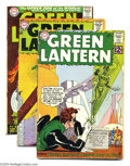 Silver Age (1956-1969):Superhero, Green Lantern Group (DC, 1962-66). This lot consists of issues #12, 21, and 43-45. Issue #12 is FR/GD, the others average VG... (Total: 5 Comic Books Item)