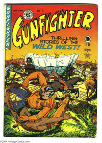 Gunfighter #9 (EC, 1949) Condition: VG. Graham Ingels cover and art. Overstreet 2004 VG 4.0 value = $80