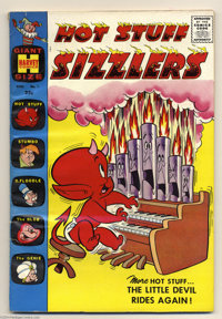 Hot Stuff Sizzlers #1 File Copy (Harvey, 1960) Condition: VG/FN. Overstreet 2004 VG 4.0 value = $30; FN 6.0 value = $45...
