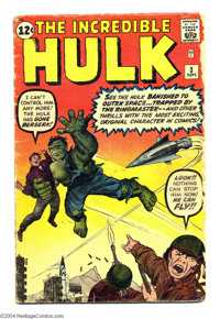 The Incredible Hulk #3 (Marvel, 1962) Condition: GD/VG. Jack Kirby cover and art. Overstreet 2004 GD 2.0 value = $137; V...