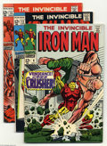 Bronze Age (1970-1979):Superhero, Iron Man Group (Marvel, 1968-83). This group contains issues #6,12, 13, 20, 76, 87-91, 131, 171, and Annual 3. Issue #6 is ...(Total: 13 Comic Books Item)