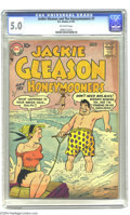 "Silver Age (1956-1969):Horror, Jackie Gleason and the Honeymooners #7 (DC, 1957) CGC VG/FN 5.0 Off-white pages. Alice Kramden ""headlights"" cover! Hard-to-f..."