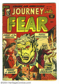 Golden Age (1938-1955):Horror, Journey Into Fear #8 (Superior, 1952) Condition: VG/FN. Overstreet2004 VG 4.0 value = $58; FN 6.0 value = $87....