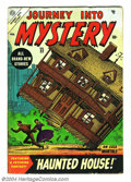 """Golden Age (1938-1955):Science Fiction, Journey Into Mystery #22 (Marvel, 1955) Condition: VG. Lastpre-Code issue. Joe Maneely cover. Termed """"uncommon"""" by Gerber. ..."""