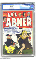 Golden Age (1938-1955):Humor, Li'l Abner #65 (Harvey, 1948) CGC NM+ 9.6 Cream to off-white pages. Here is a truly gorgeous copy of this neat Harvey title....