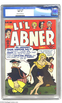 Li'l Abner #65 (Harvey, 1948) CGC NM+ 9.6 Cream to off-white pages. Here is a truly gorgeous copy of this neat Harvey ti...
