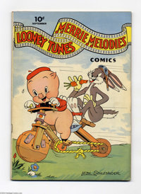 Looney Tunes and Merrie Melodies Comics #11 (Dell, 1942) Condition: FN+. Walt Kelly art. Overstreet 2004 FN 6.0 value =...