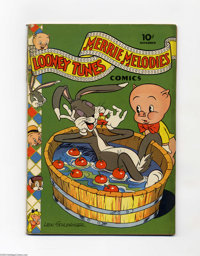 Looney Tunes and Merrie Melodies Comics #12 (Dell, 1942) Condition: VG. Overstreet 2004 VG 4.0 value = $80