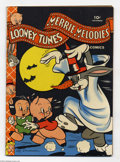 Golden Age (1938-1955):Cartoon Character, Looney Tunes and Merrie Melodies Comics #25 (Dell, 1943) Condition:FN/VF. Walt Kelly art. Overstreet 2004 FN 6.0 value = $9...