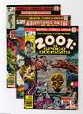 Bronze Age (1970-1979):Superhero, Marvel Bronze Age First Issues Group (Marvel, 1974-77) Condition: Average VF+. This group includes Adventures of the Plane... (Total: 8 Comic Books Item)