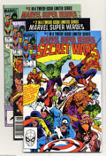 Modern Age (1980-Present):Superhero, Marvel Super Heroes Secret Wars Group (Marvel, 1984-85) Condition: NM-. This group contains issues #1-11, two of each. Issue... (Total: 22 Comic Books Item)