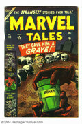 Golden Age (1938-1955):Horror, Marvel Tales #119 (Atlas, 1953) Condition: VG+. Artists include Russ Heath. Overstreet 2004 VG 4.0 value = $80....